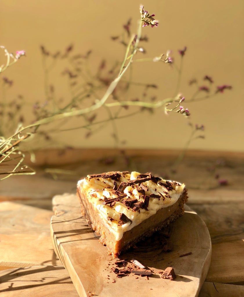 tanya maher's raw vegan banoffee pie recipe