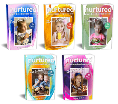 Nurtured - £39 eBook Bundle - Plant Based Recipes For Kids