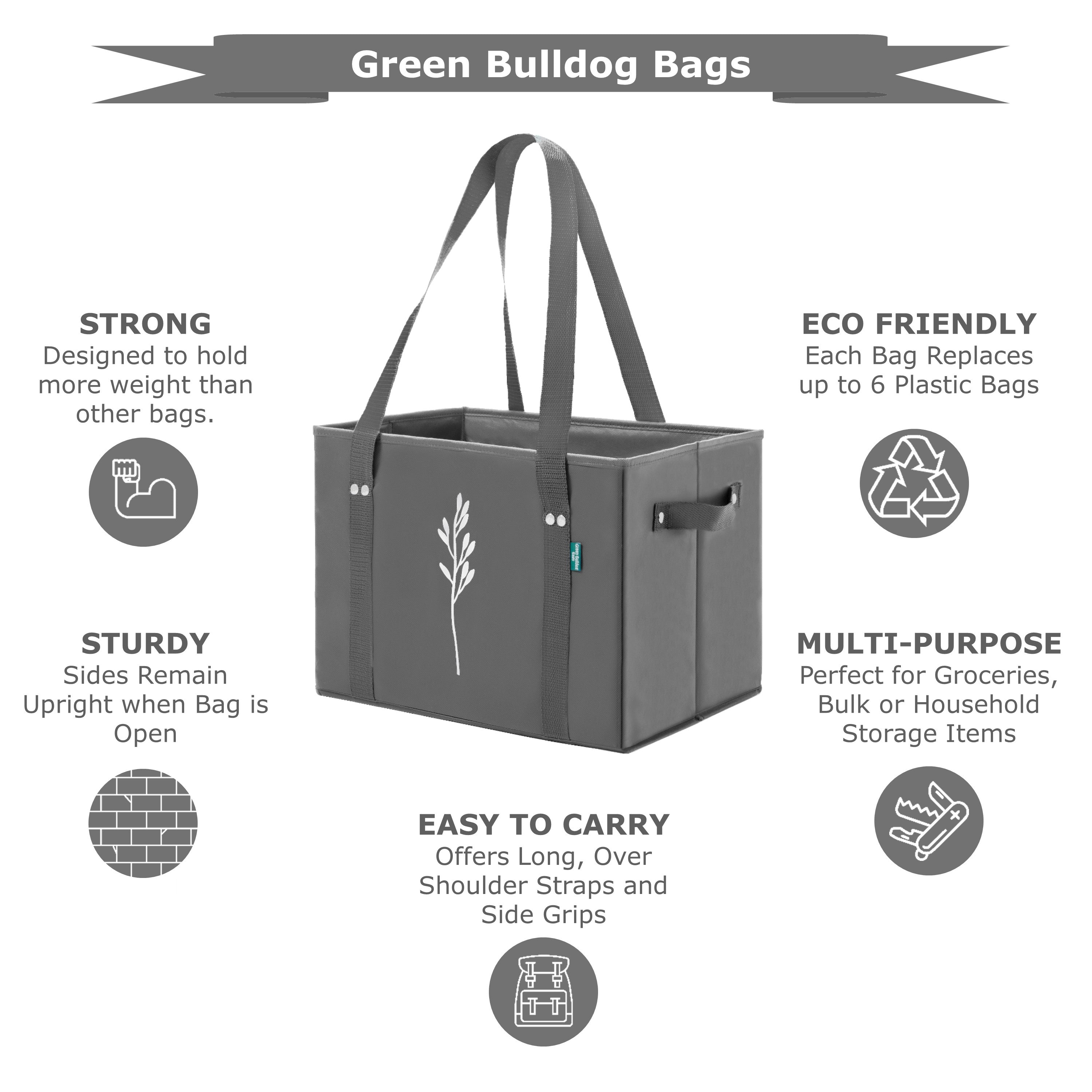 Green Bulldog Bags are the Best Reusable Bags on the Market
