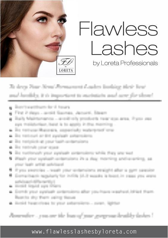 Posters | Flawless Lashes by Loreta