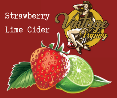 Strawberry Lime Cider