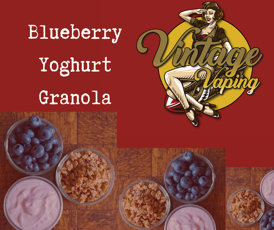 Blueberry Yoghurt Granola