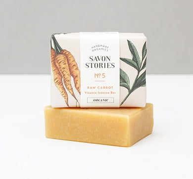 No. 5 Raw Carrot | Vitamin Intense Soap Bar (100g)