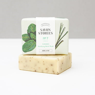 No. 7 Cooks | Purifying Herb Soap Bar (100g)