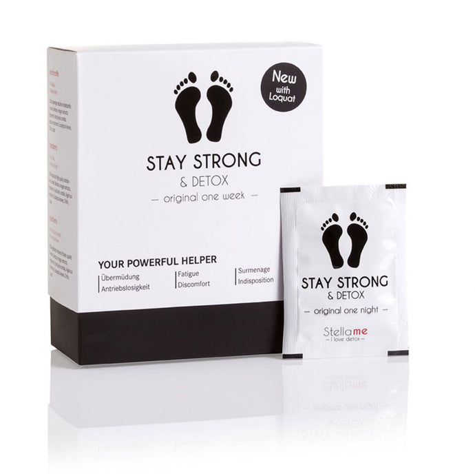 Stay Strong & Detox One Week | Detox-Fußpads