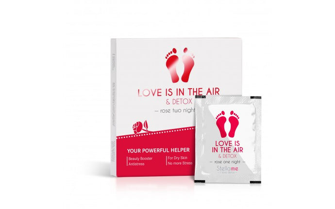Love Is In The Air & Detox Two Nights | Detox-Fußpads Rose