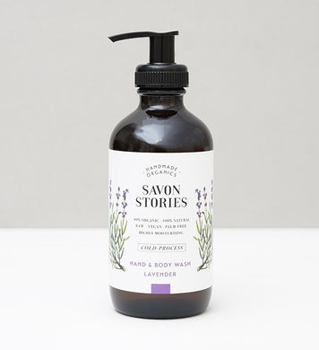 Lavender Kashmir | Hand & Body Wash (240ml)