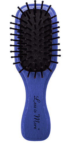 Minibrush Herbal Blue | Minibürste für unterwegs