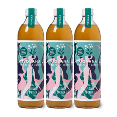 ELDERFLOWER, LYCHEE & GREEN TEA 6 x 500ml BOTTLES