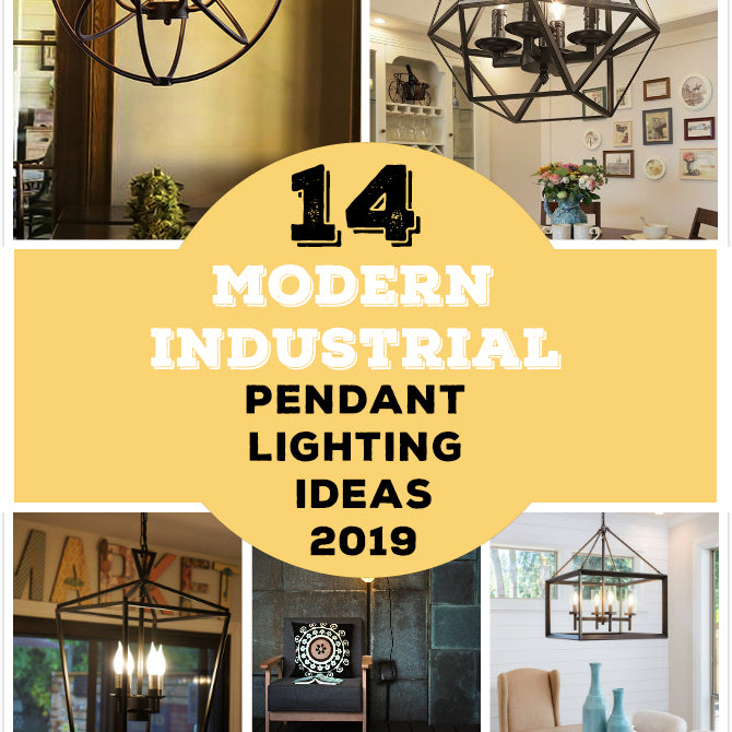 14 Modern Industrial Pendant Lighting Trends That'll Make Your Life Better