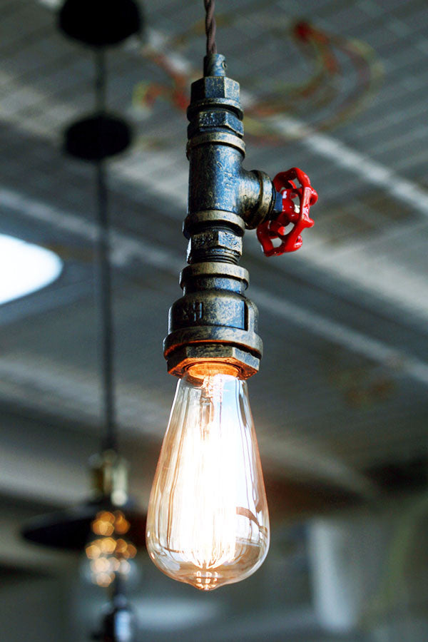 Old Fashioned Industrial Pipe Lamp Pendant Lighting - Judy Lighting Projects