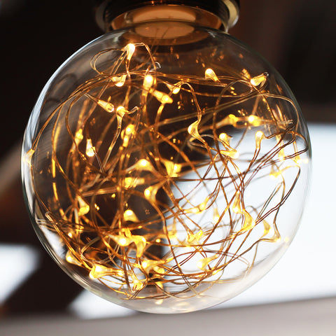 Colored Fairy String Light Bulb