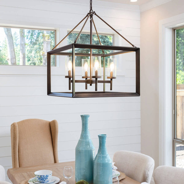 2019 trending pendant lights for dining room Squares and Rectangles pendant light