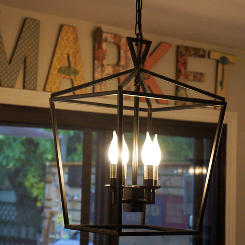 industrial minimalism pendant lighting