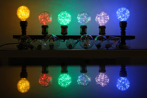 fairy string light bulb is a combination of shining or sparkling led string lights and classic vintage edison bulb makes enchanting affects