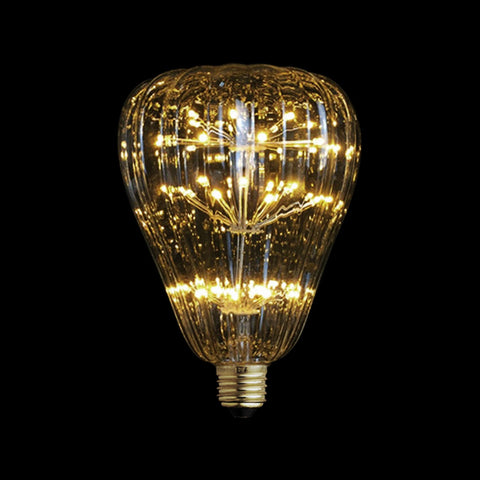 3W LED Pumpkin Fireworks Edison Light Bulb JUDY lighting for industrial style incandescents, Edison bulbs, decorative lights, pendant lights wall sconces