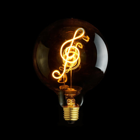Music Note G125 LED Bulb 4W 220V