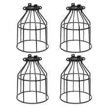 Metal Bulb Guard - 4 PACK, Industrial Farmhouse Style - JL-BLMLG-4