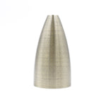 Matt Brass Rocket Lamp Holder
