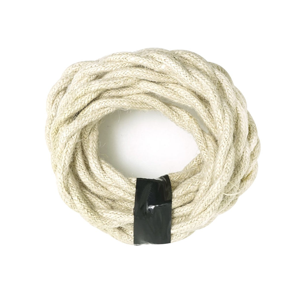 White Color Round Cloth Lighting Flex Cables
