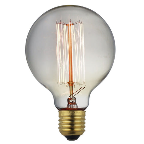 Globe Squirrel Cage Incandescent - Edison Bulb - 60W E26 E27 - Judy Lighting
