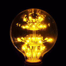 LED Fireworks Globe Bulb  Edison Filament Light 3W