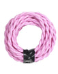 Baby Pink Twisted Cloth Lighting Flex Cables