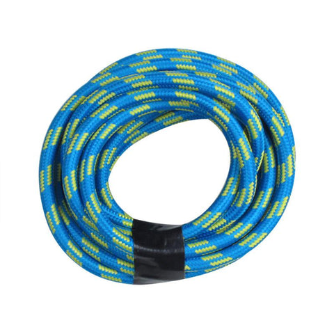 Baby Blue Round Cloth Lighting Flex Cables