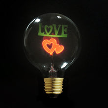 I Love You Edison Light Bulb JUDY lighting for industrial style incandescents, Edison bulbs, decorative lights, pendant lights wall sconces