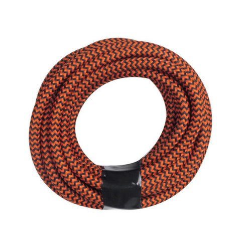 Red Zebra Round Cloth Lighting Flex Cables