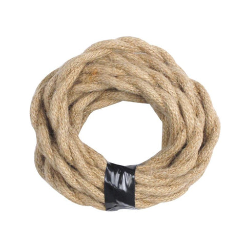 Light Brown Twisted Cloth Lighting Flex Cables