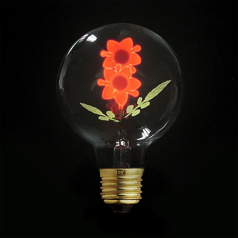 Flower Night Light Bulb JUDY lighting for industrial style incandescents, Edison bulbs, decorative lights, pendant lights wall sconces