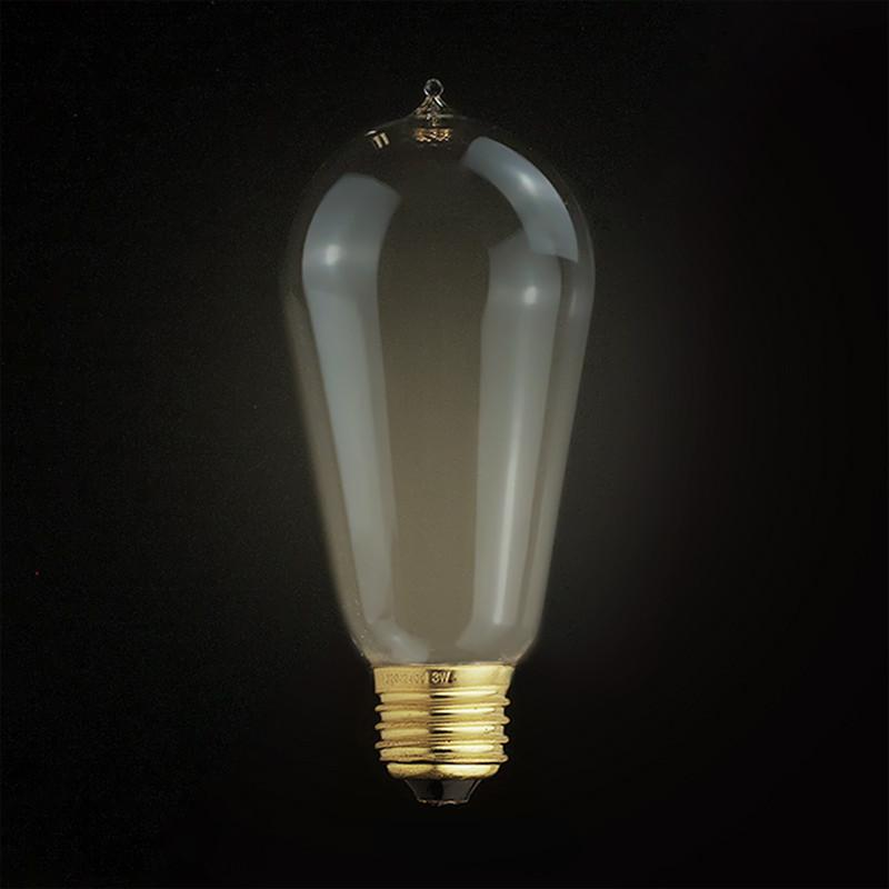 3W LED Edison Squirrel Cage Light Bulb