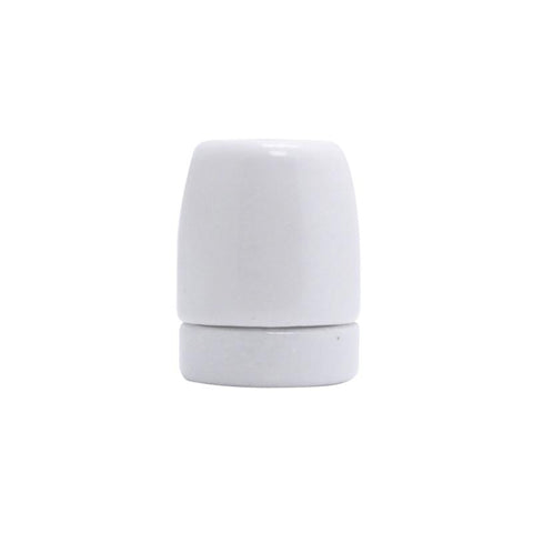 White Porcelain Lamp Holder