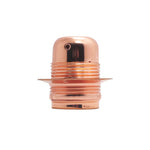 Rose Gold Aluminium Alloy Lamp Holder