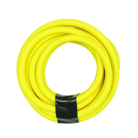 Yellow Color Round Cloth Lighting Flex Cables