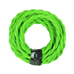 Green Twisted Cloth Lighting Flex Cables