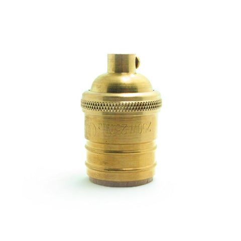 Short Brass Copper Bulb Holder