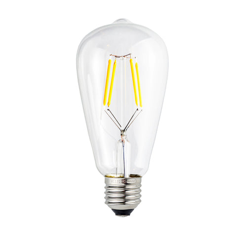 LED Classic Edison Filament Light Bulb 4W