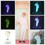 BTS JIMIN LED Night Light Desk Lamp