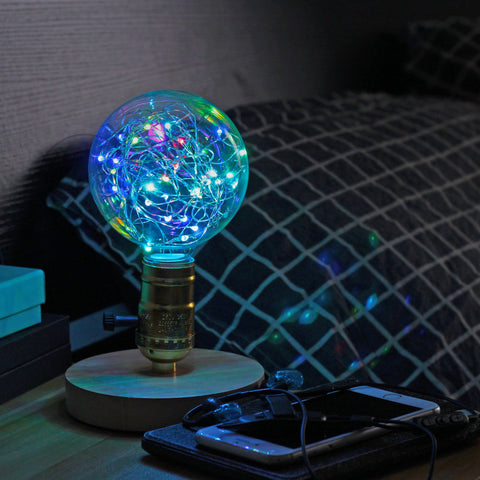 G95 Flashing LED Fairy String Light Bulb