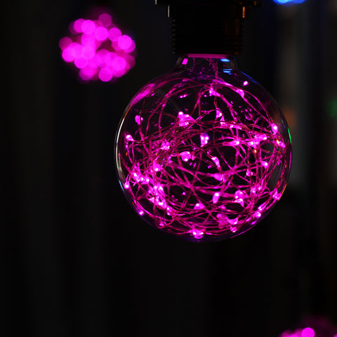 G95 LED Fairy String Light Bulb - Purple