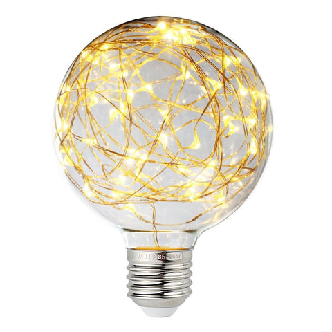 Vintage Edison LED Fairy String Light Bulb - Warm White
