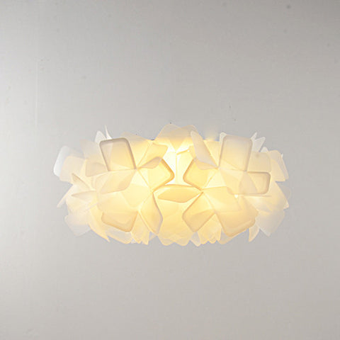 Blue Ghost Series - Modern Nordic Scandinavian LED Chandelier Ceiling Light - Orange - Judy Lighting
