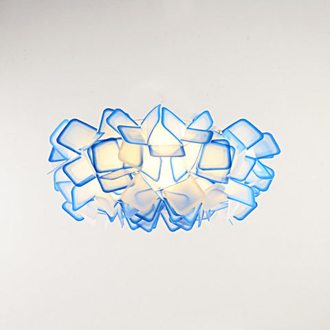 Blue Ghost Series - Modern Nordic Scandinavian LED Chandelier Ceiling Light - Blue - Judy Lighting