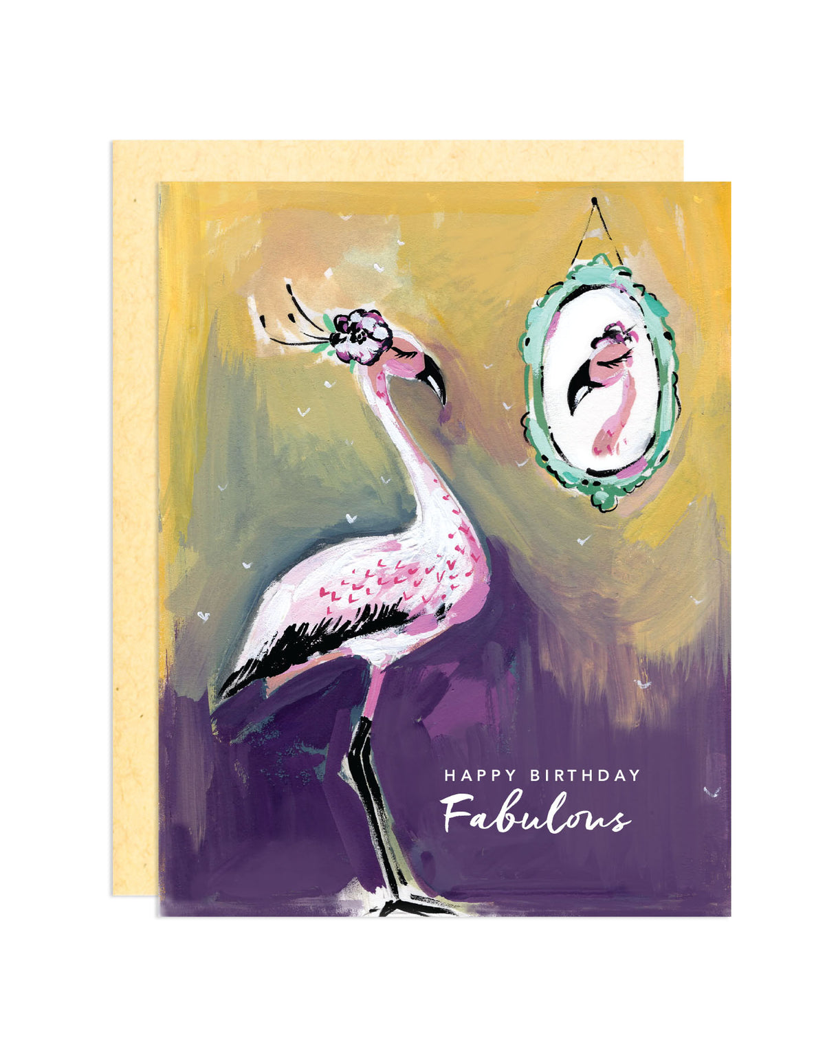 Fabulous Flamingo Card