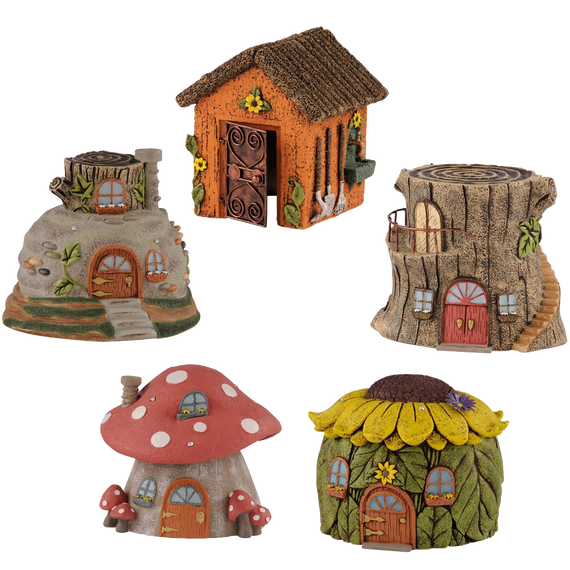 Grasslands Road Assortment Road Fairy House 5-Inch