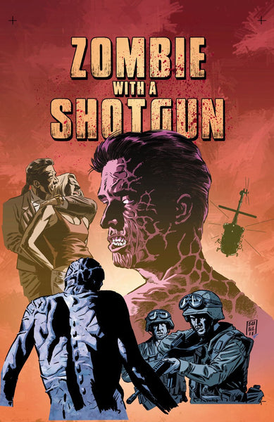 Zombie with a Shotgun_comic cover