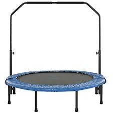 Indoor Trampoline with handrail stainless steel