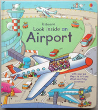 "Usborne Book Series: ""Look Inside an Airport"""